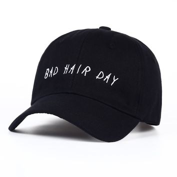 Bad Hair Day - Embroidered Cute, Graphic, Cool Baseball Cap - Sports & Leisure Hat
