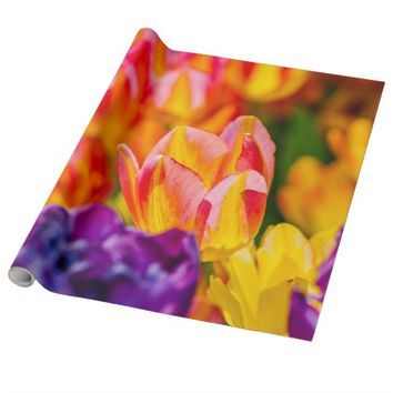 Tulips Enchanting Wrapping Paper