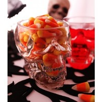 11oz Skull Glass- 4 Pack