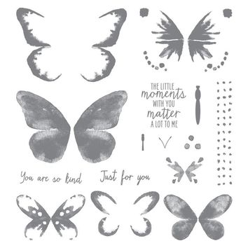 Butterfly stamp Clear Stamp for Scrapbooking Transparent Silicone Rubber DIY Photo Album Decor G991
