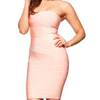 Blush Pink Sweetheart Strapless Serenity Dress