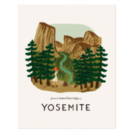 Yosemite Art Print by RIFLE PAPER Co.   Made in USA