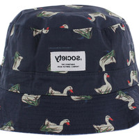 Society Originals Novelty Print Bucket Hat Fisherman's Cap
