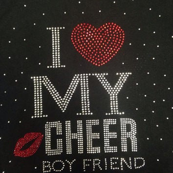 I Love My CHEER Boyfriend Sweatshirt