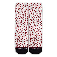 Function - Japanese Flag Repeating Pattern Fashion Sock
