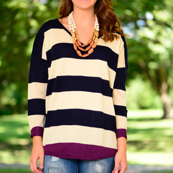 Today Is The Day Sweater, Navy