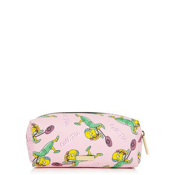 **The Simpsons Undressed Mr. Burns Make-Up Bag by Skinnydip | Topshop