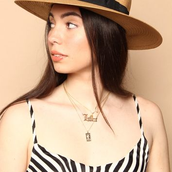 Paloma Wide Brim Hat
