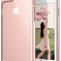 Caseology Skyfall Series iPhone 6S Plus Cover Case with Clear Slim Protective for Apple iPhone 6S Plus (2015) / iPhone 6 Plus (2014) - Rose Gold