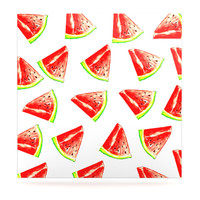 "Sreetama Ray ""Summer Fun"" Watermelon Luxe Square Panel"