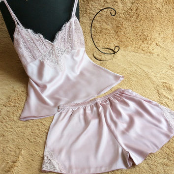 Sexy Home Summer Spaghetti Strap Soft Luxury Shorts [8331980611]