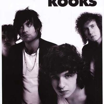 The Kooks Band Portrait Poster 11x17