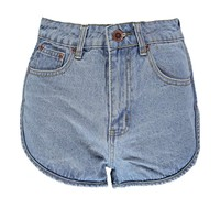 Maya Denim Runner Style Hotpants