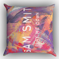 lay me down sam smith album cover Zippered Pillows  Covers 16x16, 18x18, 20x20 Inches