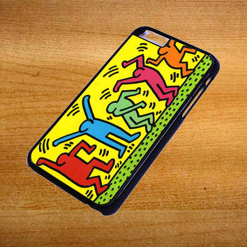 Keith Haring Pop Art For iPhone 6 Plus Case *76*