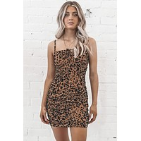 Born To Be Wild Leopard Bodycon Dress