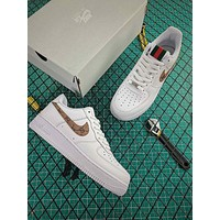 Guuci x Nike Air Force 1 07 LV8 AF1 Low Fashion Shoes