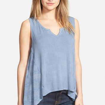 Junior Women's Ten Sixty Sherman Notch Neck Tank,