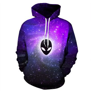 Space Galaxy Sweatshirt Harajuku Hoodies for Women Men High Quality Casual pullover 3D Print starry sky ghost Unisex Outerwear