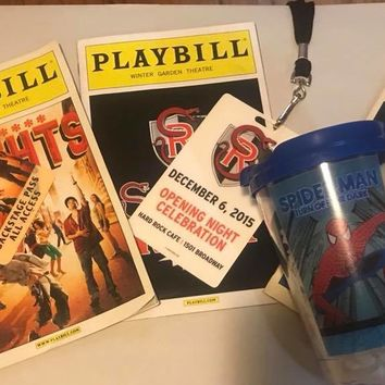 In The Heights Playbill & Backstage Pass