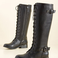 By Land, Sea, or Flair Boot | Mod Retro Vintage Boots | ModCloth.com