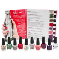 OPI The Perfect Ten 100 Years of Coca Cola 10x 1/8oz Mini Bottles Set Collection