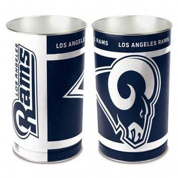 Los Angeles Rams Wastebasket 15 inch