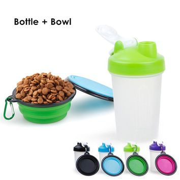 Portable Dog Water Bottle and Bowl 2pcs/Set