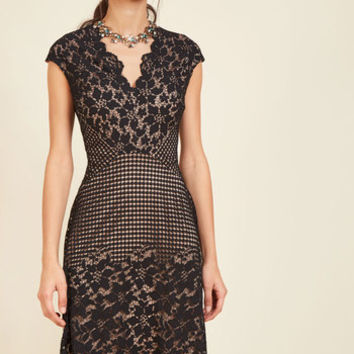 Motif Magnificence Lace Dress | Mod Retro Vintage Dresses | ModCloth.com