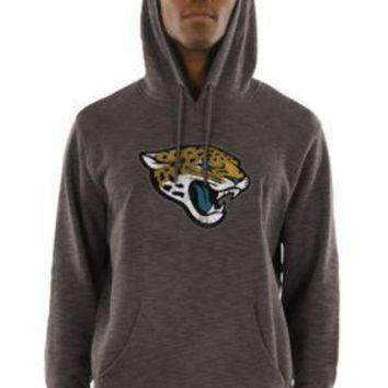 ONETOW NFL Jacksonville Jaguars Majestic Men's Gameday Classic Pullover