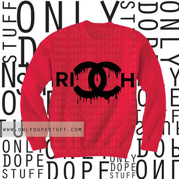 Chanel  Rich Drip Sweatshirt