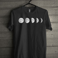 Moon Phases Screen print Funny shirt for t shirt mens and t shirt girl size s, m, l, xl, xxl