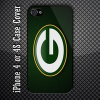 Green Bay Packers Aerian Football NFL Team Logo Custom iPhone 4 or iPhone 4S Cas