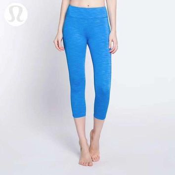 CREYUP0 Lululemon Women Fashion Gym Yoga Exercise Fitness Leggings Sweatpants-4