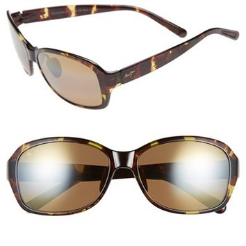 Women's Maui Jim 'Koki Beach' 56mm Polarized Sunglasses