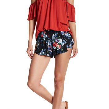 Green Dragon | Floral Smocked Waist Shorts | Nordstrom Rack