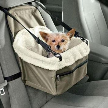 DCCK1IN car seat pet safety travel safe pet lookout dog cat booster seat dog cat carrier gift 2