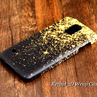 Gold Glitter Samsung Galaxy S5/S4/S3/Note 3/Note 2 Protective Case