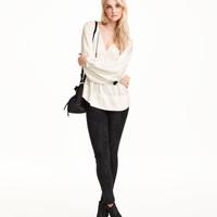 H&M Imitation Suede Pants $34.99