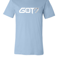GOT7 Logo - White