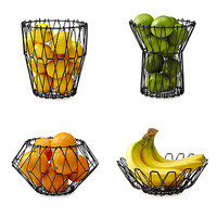 Folding Wire Fruit Basket | fruit bowl, wire basket