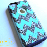 OTTERBOX iphone 5c case, case cover iphone 5c otterbox ,iphone 5c otterbox case,otterbox iPhone 5c, otterbox,  grey chevron otterbox case