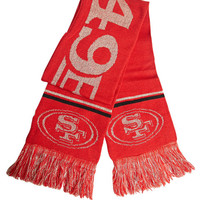 SF 49ers Knit Scarf