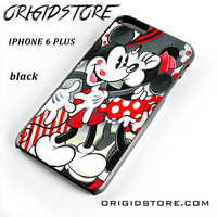 Mickey Mouse Kissing By Minnie Mouse Disney For Iphone 6S Plus Case UY