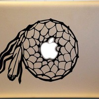 Dreamcatcher Southwestern Vinyl Macbook Decal ORIGINAL Design
