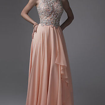 Floor Length Formal Gown by Brit Cameron