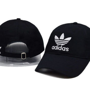Black Adidas Baseball Cap Hat