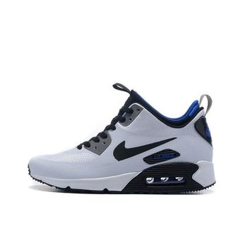 Best Deal Online Nike AIR MAX 90 UTILITY Retro Men Running Shoes Navy White