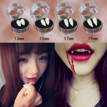 Horrific Fun Vampires Teeth Halloween Dentures Zombie Devil Fangs Teeth Vampire Denture Costume Party COSPLAY Props