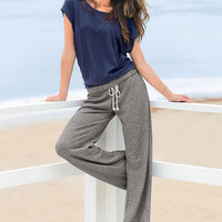French Terry Boyfriend Pant